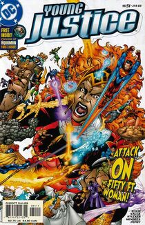 Young justice 51 cover