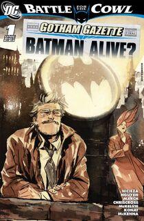 Gotham Gazette 2 cover
