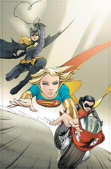 Supergirl 61 unused cover