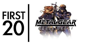 Metal Gear Solid Ghost Babel - First20