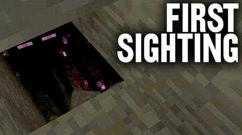 First Endermen Sighting