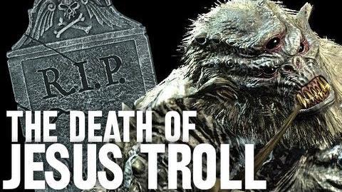 The Death of Jesus Troll