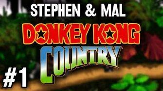 Stephen & Mal Donkey Kong Country 1