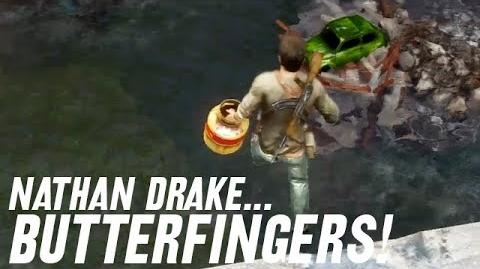 "Nathan ""Butterfingers"" Drake"
