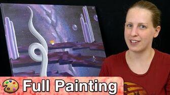 "Earthbound - ""Ness's Dream"" Painting (Full Version)"