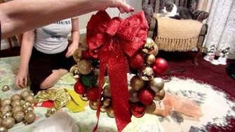 How to Make a Homemade Christmas Wreath (Day 1116 - 12 14 12)