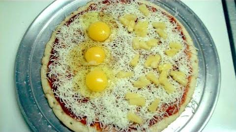 Fried Egg Pizza (Day 837 - 3 10 12)