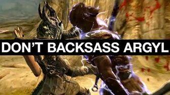 Don't Backsass Argyl