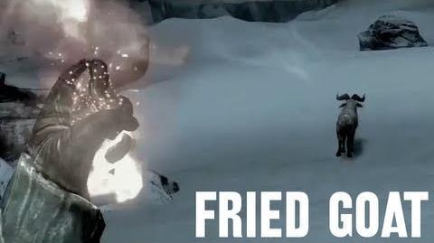 Fried Goat