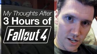 Initial Thoughts on Fallout 4 (Day 2182 - 11 15 15)