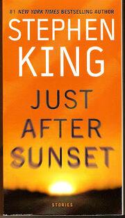 Just After Sunset paperback