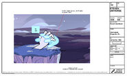 Rose's Scabbard Model Sheet Interrupted Projection