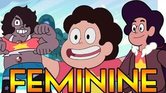 WHY ARE STEVEN'S FUSIONS FEMININE? Steven Universe Theory Crystal Clear Ep. 58-1