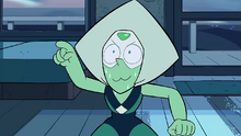 Peridot's cat-face