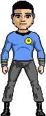 Commander P. Cooper - USS Republic