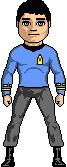 Lt. Cmdr. J. Baillie, M.D - USS Intrepid II.
