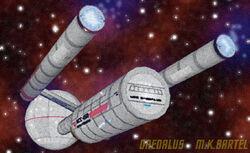 Daedalus starship