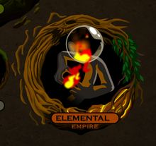 Elemental empire icon selection