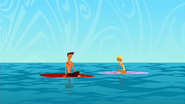 """S1 E8 Fin tells Reef """"OK, we're officially lost at sea"""""""