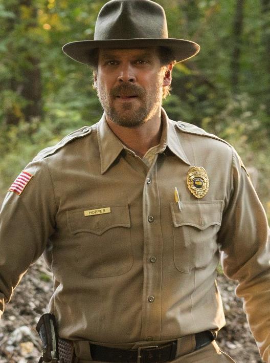 Resultado de imagen para sheriff stranger things