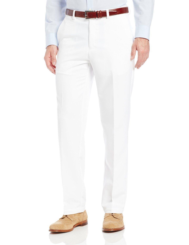 White Dress Pants BJ9VW7j6