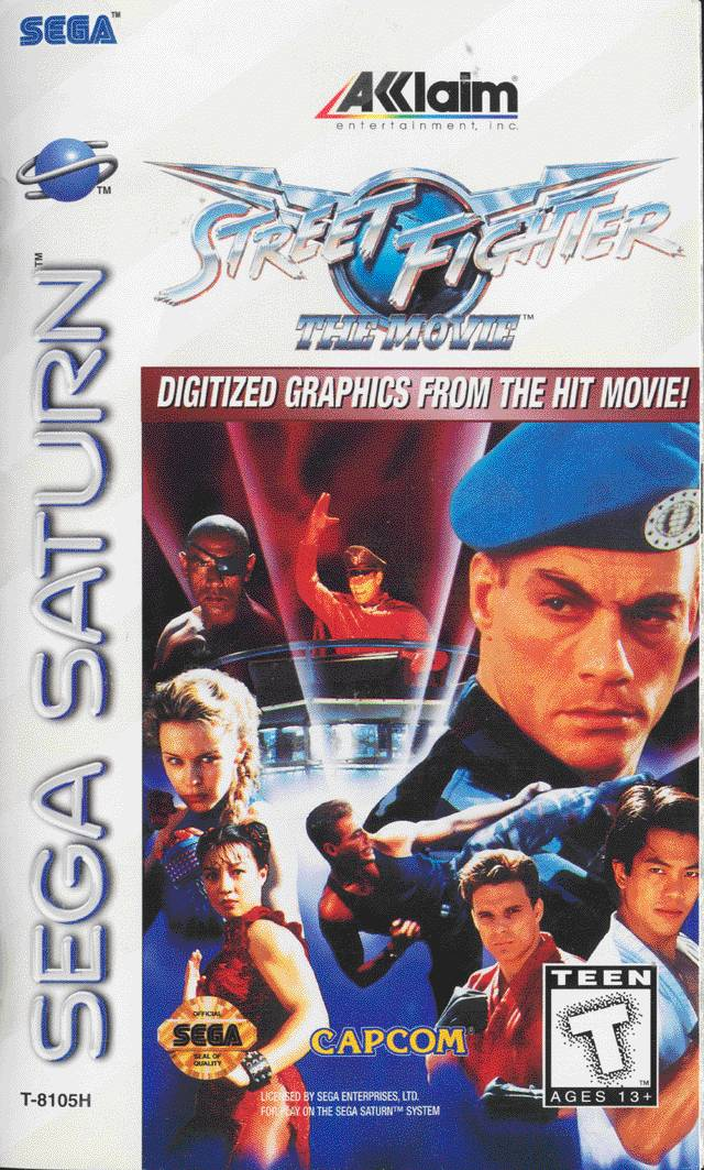 street fighter  the movie  home video game