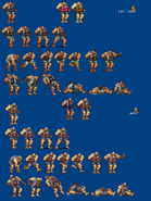 Fat Jack & Arby Sprite Sheet