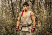Ryu in Street Fighter Resurrection