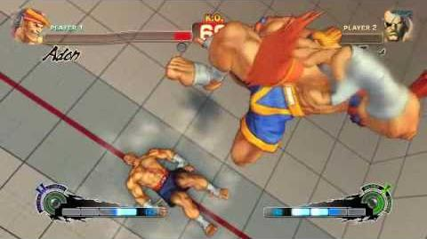 Super Street Fighter 4 - Adon Ultra 2 Jaguar Avalanche