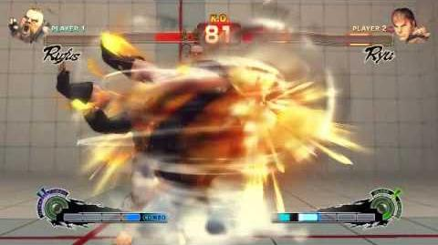 Super Street Fighter 4 - Rufus Ultra 2 Big Bang Tornado