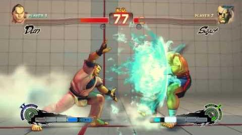 Super Street Fighter 4 - Dan Ultra 2 Haoh Gadoken