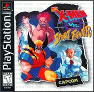 X-Men vs Street Fighter PS cover