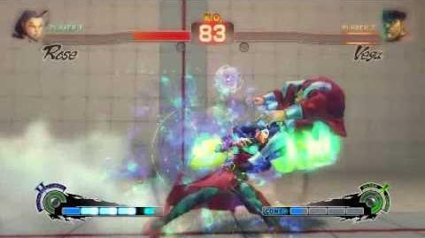 Super Street Fighter 4 - Rose Ultra 2 Soul Satellite