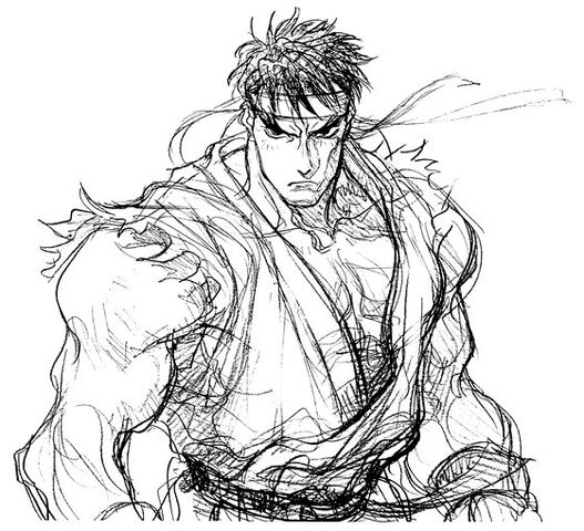 File:Super Street Fighter II X Art Ryu 1.jpg