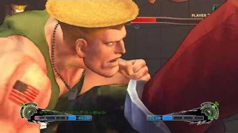 Super Street Fighter 4 - Guile Ultra 1 Flash Explosion