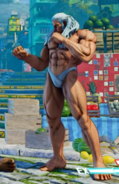 SFV Urien Secret Costume 3