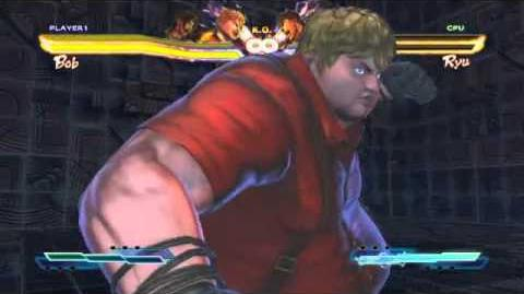 Bob's Super Art and Cross Assault in Street Fighter X Tekken