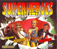 Superheroes cover