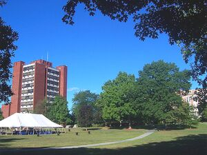 SUNY New Paltz main quad