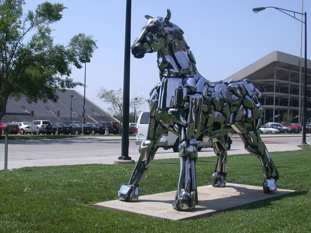 File:Wichita SU campus horse.jpg