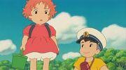 Ponyo och Sosuke divson