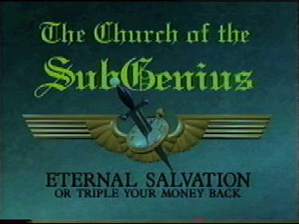 Eternal salvation or triple your money back