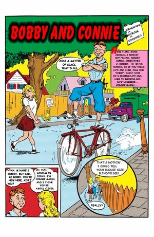 Bobby and Connie Comix 1 pg.1
