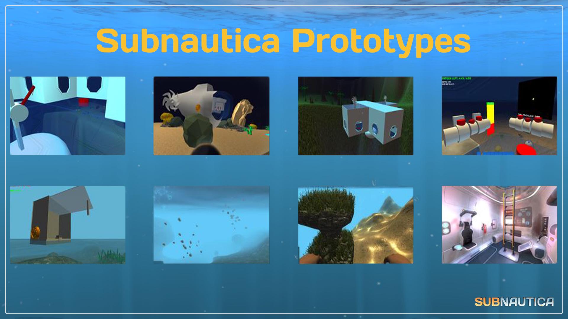 Prototypes | Subnautica Wiki | Fandom powered by Wikia