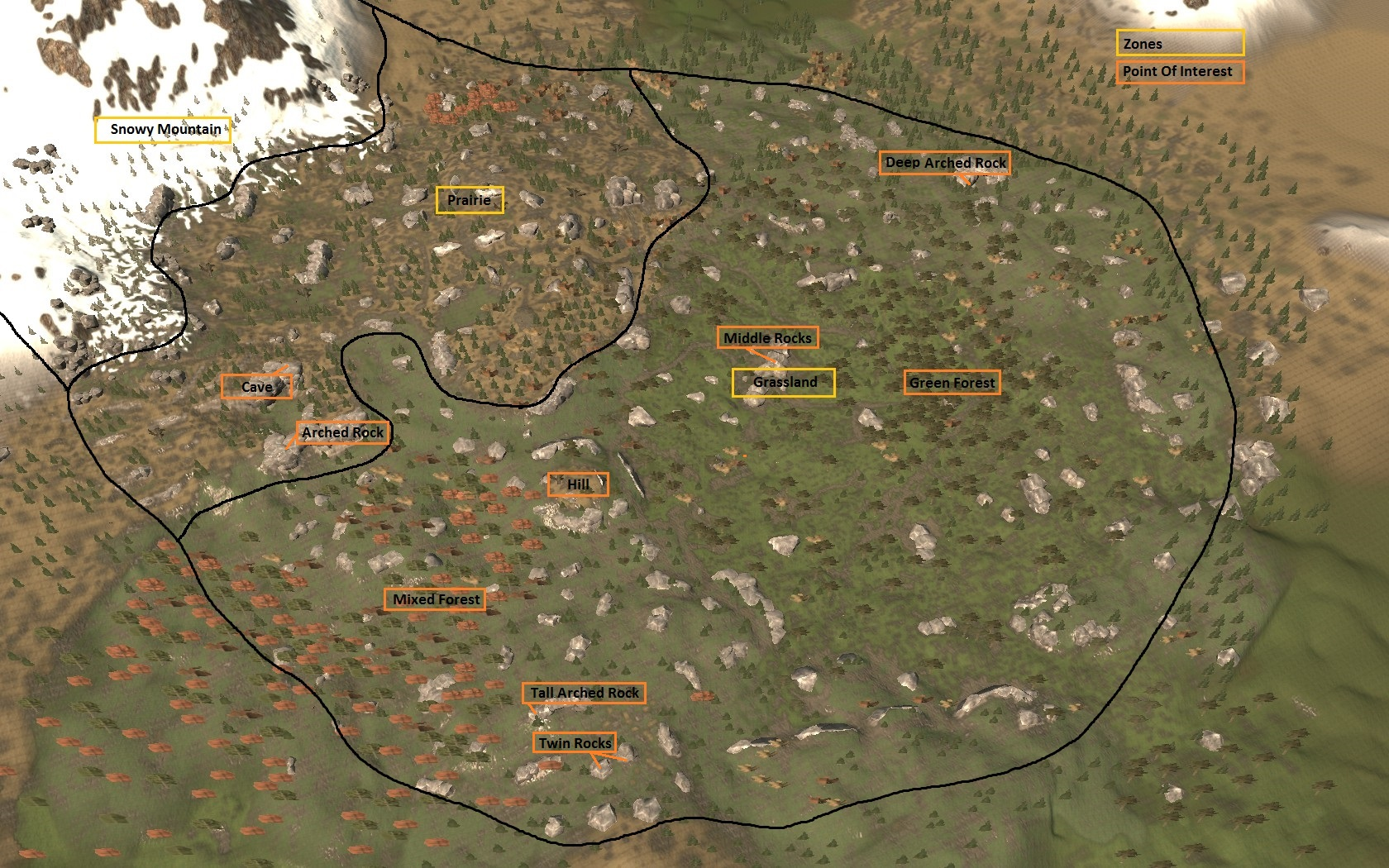 Map Subsistence Wiki Fandom Powered By Wikia