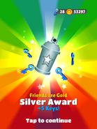AwardSilver-FriendsAreGold