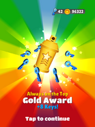 AwardGold-AlwaysOnTheTop