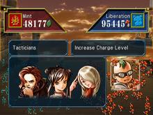 Suikoden I battle Suikoden IV