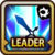 Leader Skill Attack Power (Mid) Light Icon