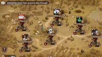 Summoners War Guardian Guild Wars 9 vs ShatterMew